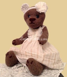 Ourson de collection Teddy bear Clotilde