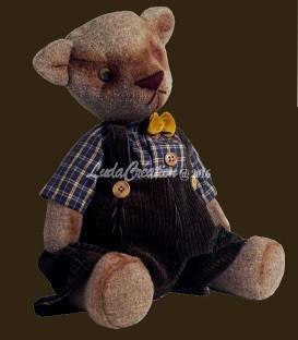 Michel .Un ours Teddy d'antan