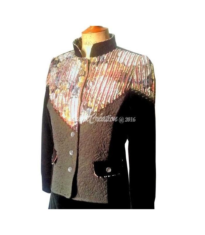 Veste de tailleur en lin